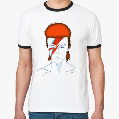Футболка Ringer-T David Bowie