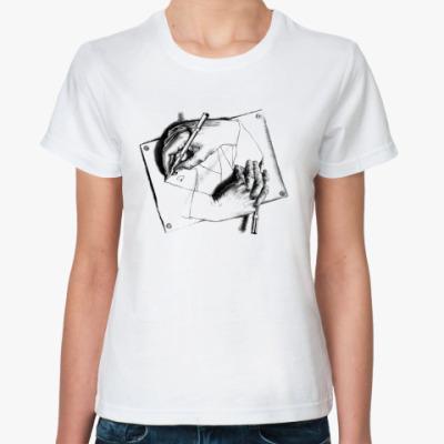 Классическая футболка Эшер