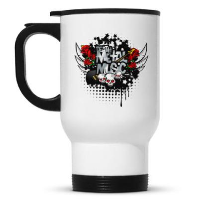 Кружка-термос Metal music