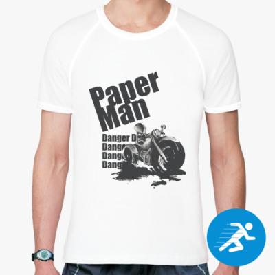 Спортивная футболка Paper man