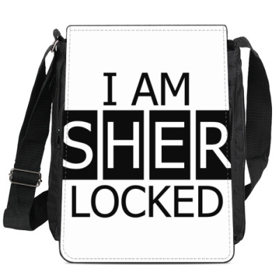 Сумка-планшет I am Sher Locked