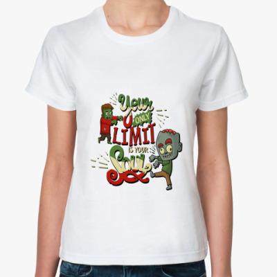 Классическая футболка Философия зомби