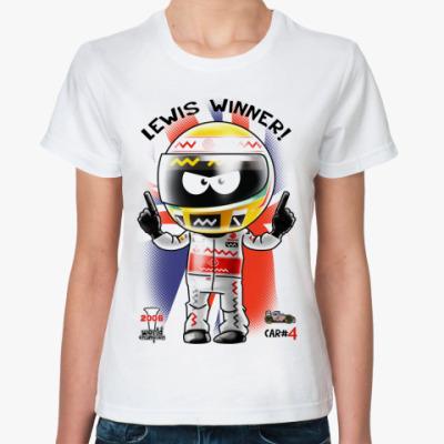 Классическая футболка LEWIS WINNER