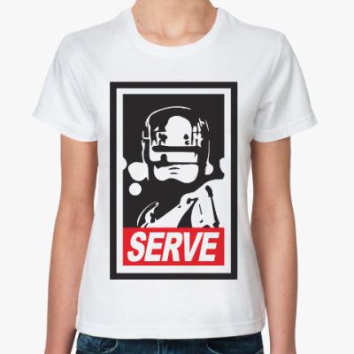 Классическая футболка Робокоп