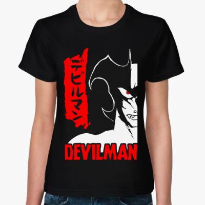 Женская футболка Дьявол