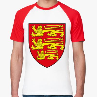 Футболка реглан Британские львы