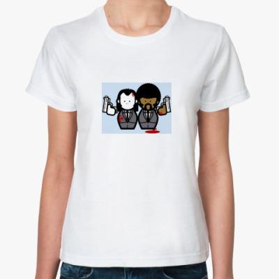 Классическая футболка КРИМИНАЛЬНОЕ ЧТИВО