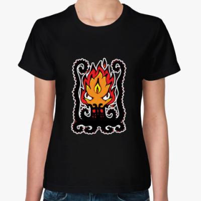 Женская футболка Повелители Стихий