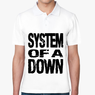 Рубашка поло  System of a down