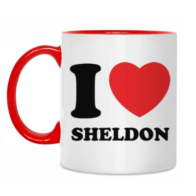 Кружка I Love Sheldon