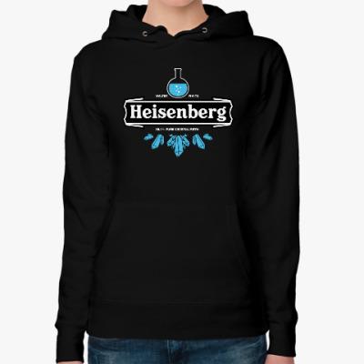 Женская толстовка худи Heisenberg