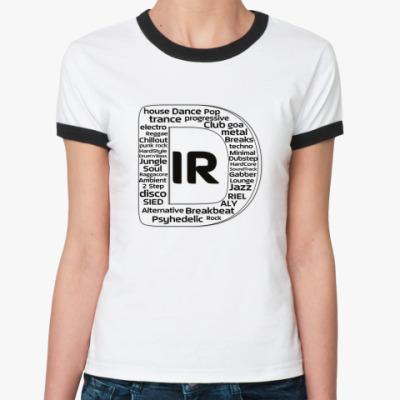 Женская футболка Ringer-T MC-G
