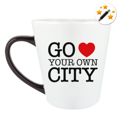 Кружка-хамелеон Love your own city