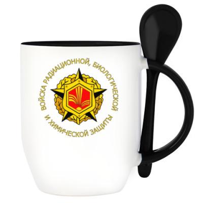 Кружка с эмблемой РХБЗ