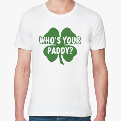 Футболка из органик-хлопка Who's your paddy