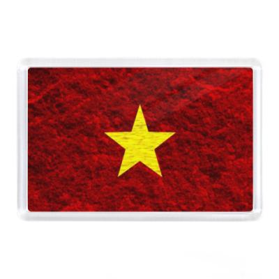 Магнит Флаг Вьетнама
