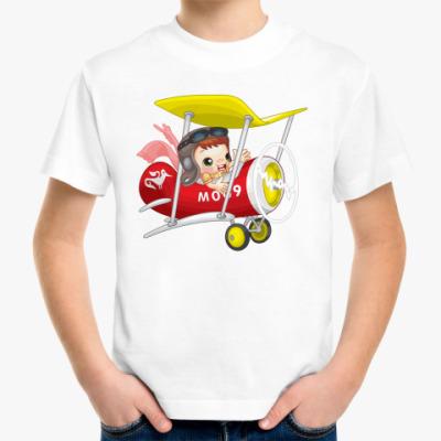 Детская футболка Пилот