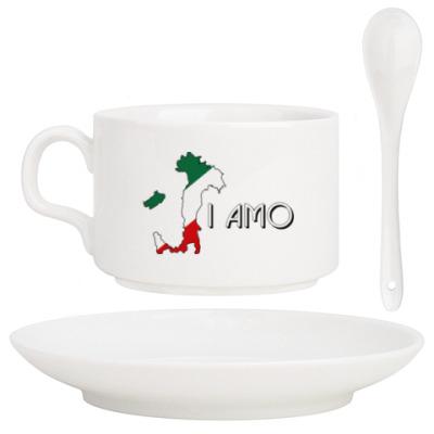 Кофейный набор Я люблю тебя по-итальянски