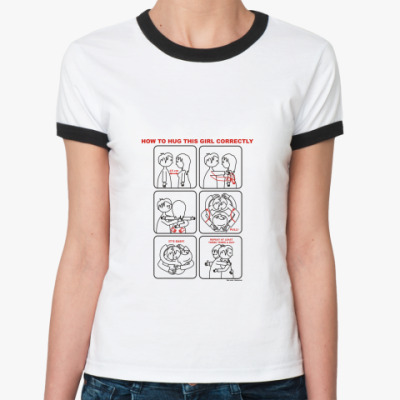 Женская футболка Ringer-T Инструкция