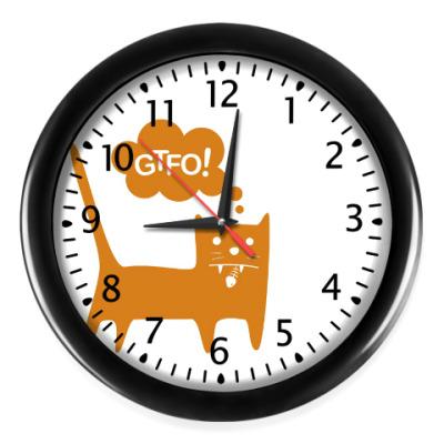 Настенные часы GTFO