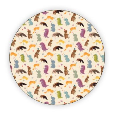 Костер (подставка под кружку) Животные