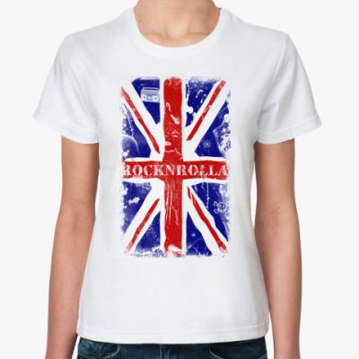 Классическая футболка  Rocknrolla
