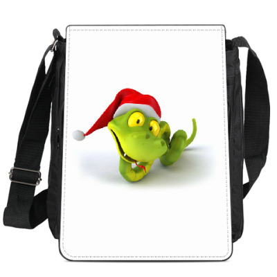 Сумка-планшет Зеленая змея