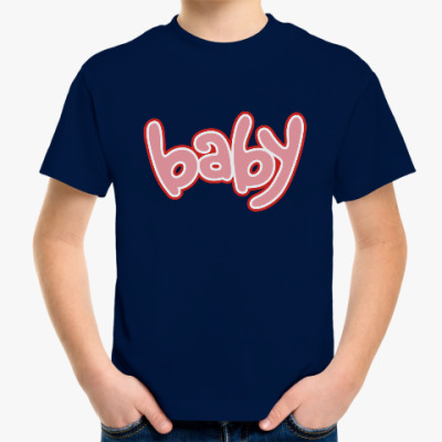 Детская футболка Baby