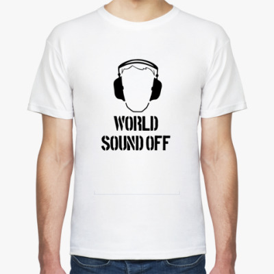 Футболка World sound off