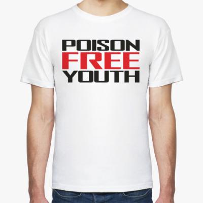 Футболка Straight edge / Poison Free