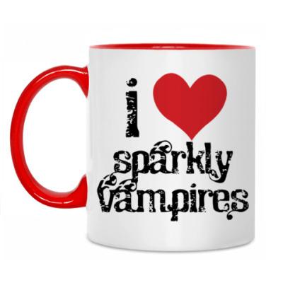 Кружка Sparkly vampires
