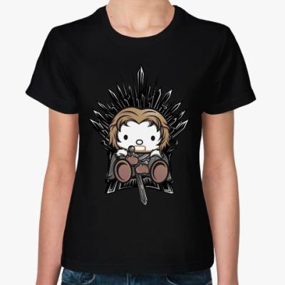 Женская футболка Кити Старк