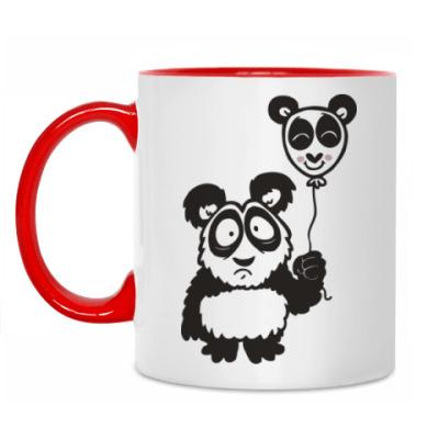 Кружка Панда с шариком