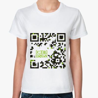 Классическая футболка qr-code
