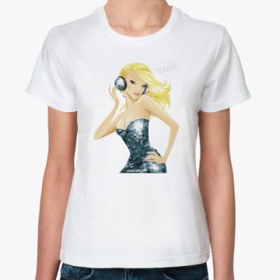 Классическая футболка Гламурная DJ