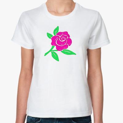 Классическая футболка PlasticRose