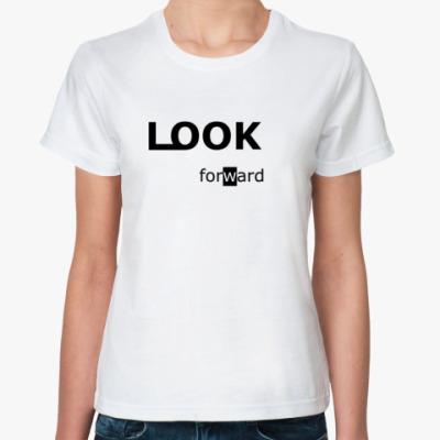 Классическая футболка LOOK foward