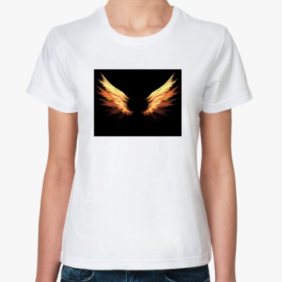 Классическая футболка Fire Wings