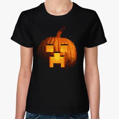 Женская футболка Halloween Craft