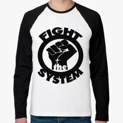 Футболка реглан с длинным рукавом Fight the System