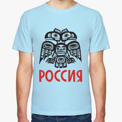 Футболка Россия. Орел.