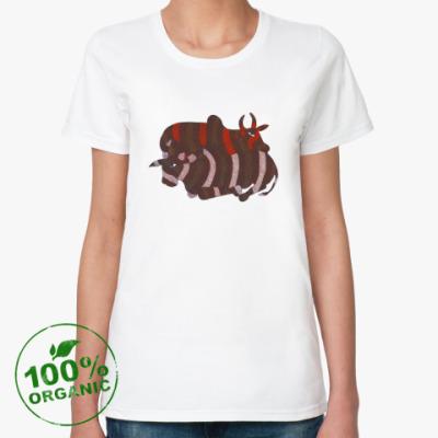 Женская футболка из органик-хлопка bulls