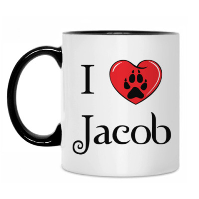 Кружка I love Jacob