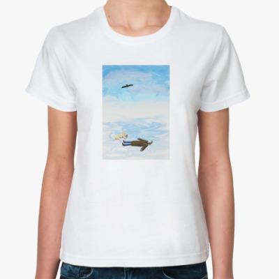 Классическая футболка Солнце и Снег