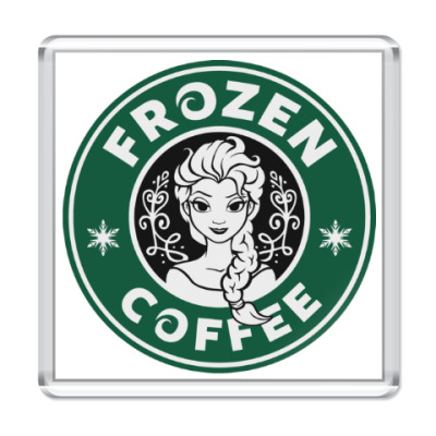 Магнит Frozen coffee