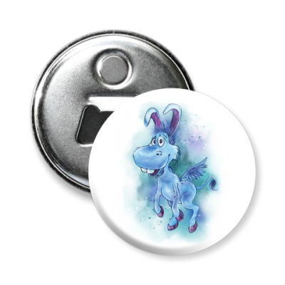 Магнит-открывашка Happy the unicorn