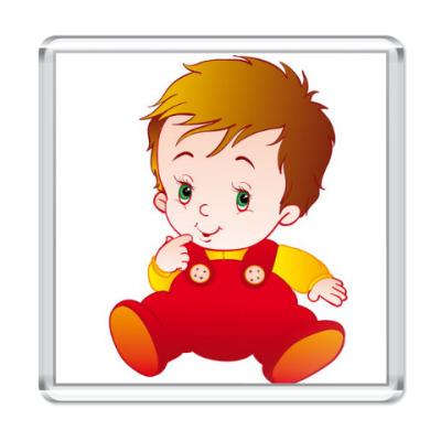 Магнит Малыш