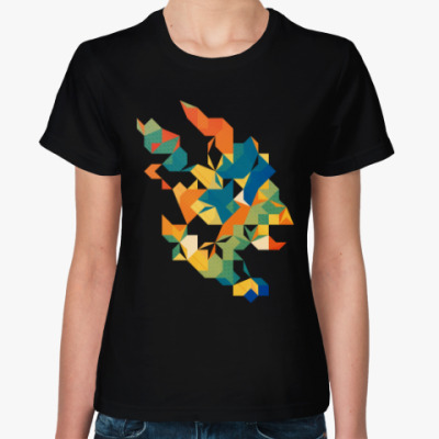 Женская футболка Цитрус