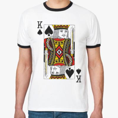 Футболка Ringer-T Король пик