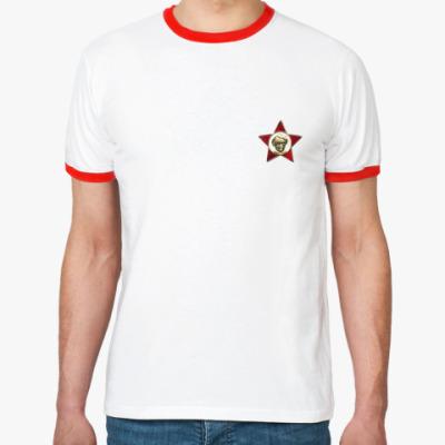 Футболка Ringer-T  Октябренок